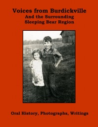 Voices from Burdickville and the Surrounding Sleeping Bear Region cover